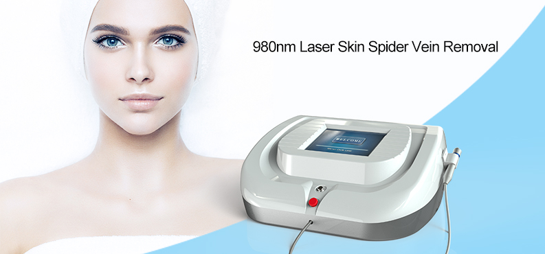 Professional Spider Vein Removal Blood Vascular Removal 980 Diode Laser Machine For Varicose Veins Treatment