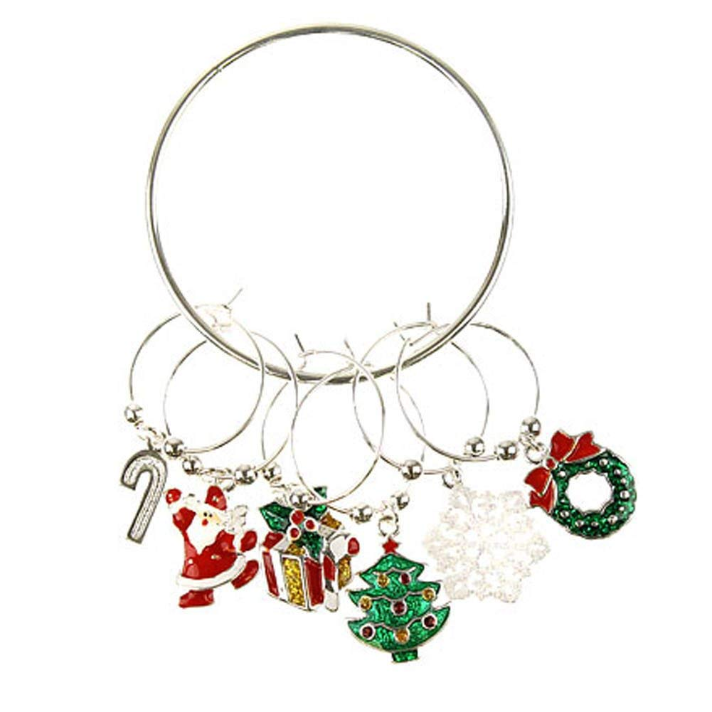 Wholesale Alloy Metal Santa Sleigh Charms Enamel Christmas Floating Locket Charms For Glass Locket Hot Sale 20pcs! Home & Garden