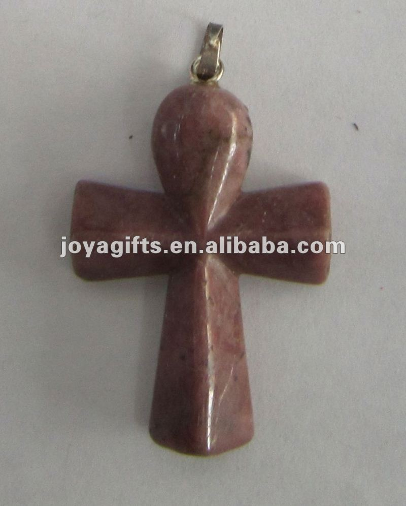 Fashion wooden cross pendant