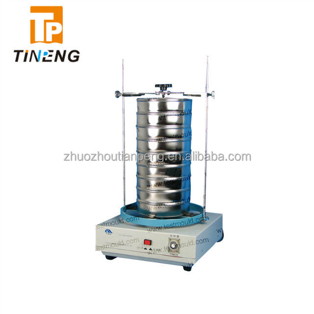 High frequency sieve shaker used for graded analysis