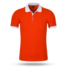 New arrival cheap 65 polyester 35 cotton branded big size 6xl unisex collar polo shirt