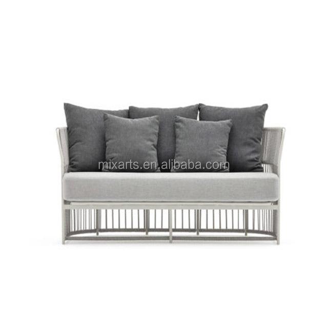 Garden Square Furniture Rattans Outdoor Patio Single Sofa Waterproof Rain Covers