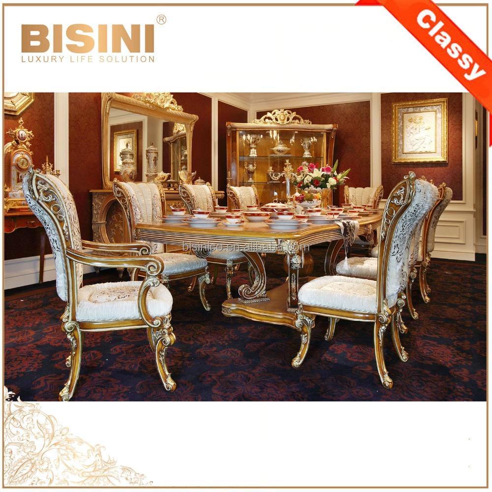 Eetkamer klassiek ontwerp - Dining barokke ...