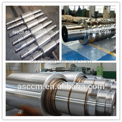 forged hot strip cold mill work rolls
