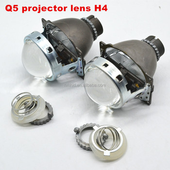 Q5 Bi Xenon Projector Lens H4 H7 H1 Car Headlight Projector Lens Car