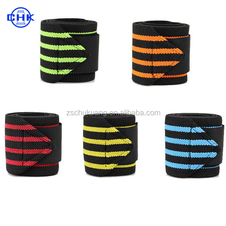 Fashionable Soft Sporty Top quality high breathable elastic thumb support wrist bracer band wraps for weight lifting sports