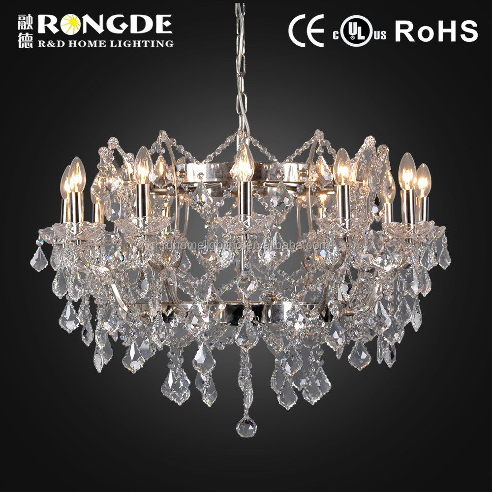 2015 Europe unique design chandelier crystal modern