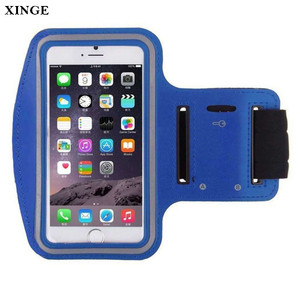 C531 Factory Price Custom Logo Waterproof PU Sport Armband For Iphone 8 Plus