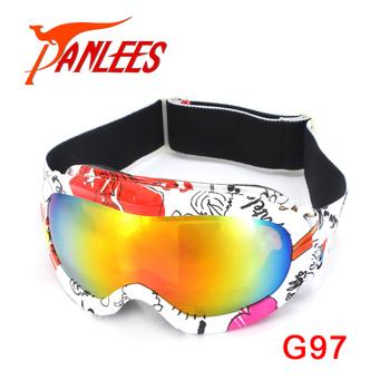 b16f66984b1b Fashion brand dex ski goggles double UV400 anti-fog big ski mask glasses  skiing men