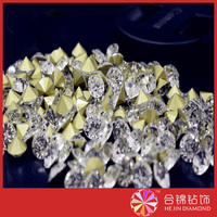 New coming hotfix crystal round shape flat back glass rhinestone color rhinestone applique