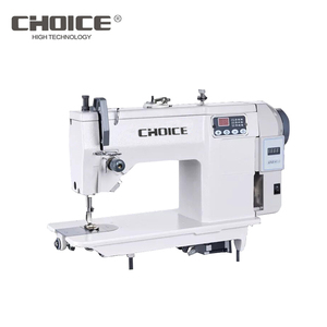 Golden choice GC20U53D computerized Direct drive heavy duty zigzag industrial sewing machine100 patterns 3 step 4 points