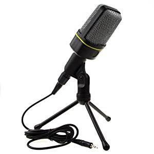 LoveCam Professional Condenser Sound Podcast Studio Microphone For PC Laptop Computer