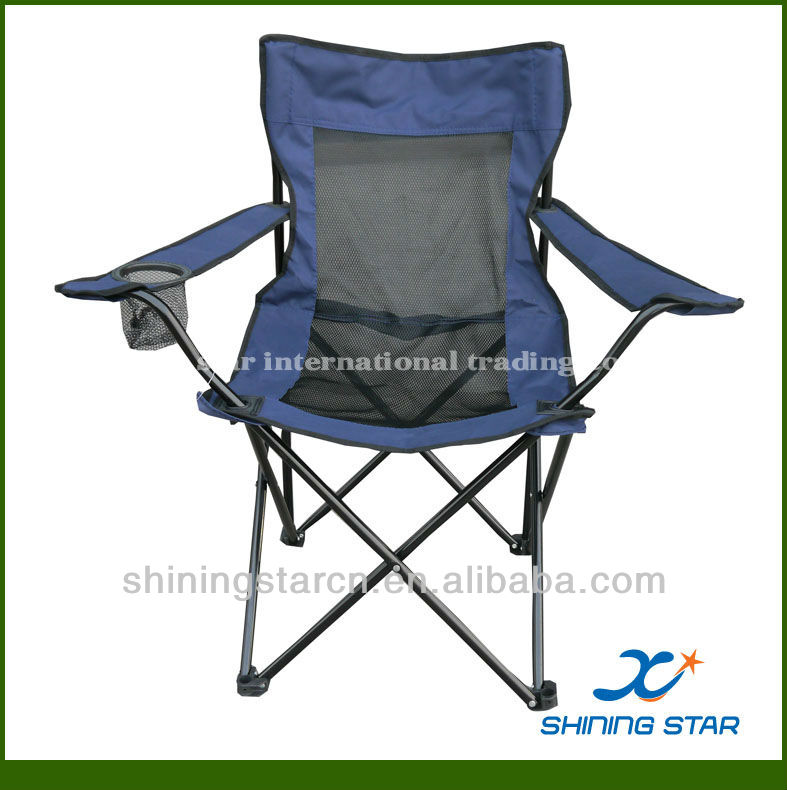 wholesale popular mesh foldable hunting camping chairs for camping and hunting