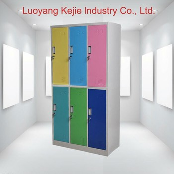 Delicieux Factory Sale 6 Door Metal Storage Locker/colorful 6 Door Steel Locker  /factory Direct
