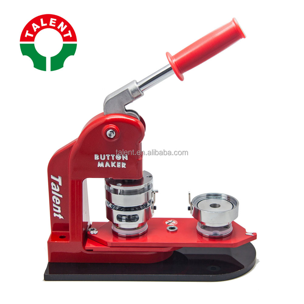Best Manufacturers In China TALENT Badge Machine Button Making Machine,  View Badge Machine Button Making Machine, TALENT Product Details from  Talent