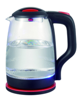 2L Glass Electric Kettle BPA Free with Borosilicate Glass and Stainless Steel for Tea, Coffee, Soup, and More