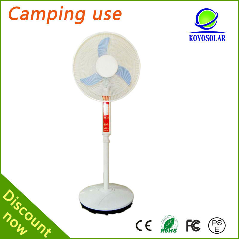 Home Application and Mini Specification solar electric fan