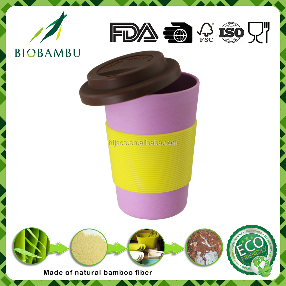 100% natural green lifestyle reasonable price bamboo take away coffee cups