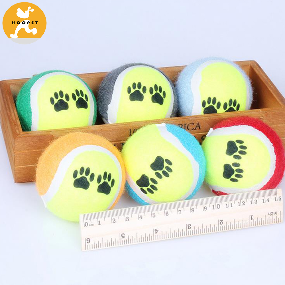 Pet Products Durable Tennis Training Dog Ball Toys