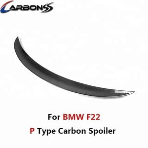 Auto Carbon Fiber Trunk Spoiler For BMW F22 M Performance Style 2014+