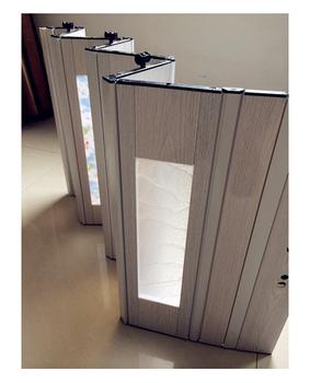 2015 Plástico Plegable Corredera Baño Pvc Puertas Comedor Puerta ...