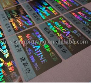 hot sale & high quality security seal sticker With Good Service