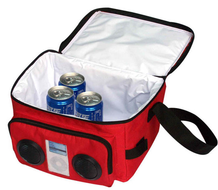 Radio Cooler Bag With Stereo Speaker