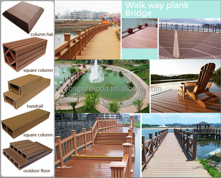 Factory wpc fence/fence panels/fence post