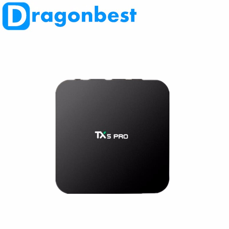 Preço barato Android 6.0 os 16 GB TX5 Pro S905X 2G 16G Android tv box set top box digital tv a cabo receptor