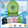 Best gift and price portable mini fan rechargeable 12v dc fan with battery gadgets 2016 newest