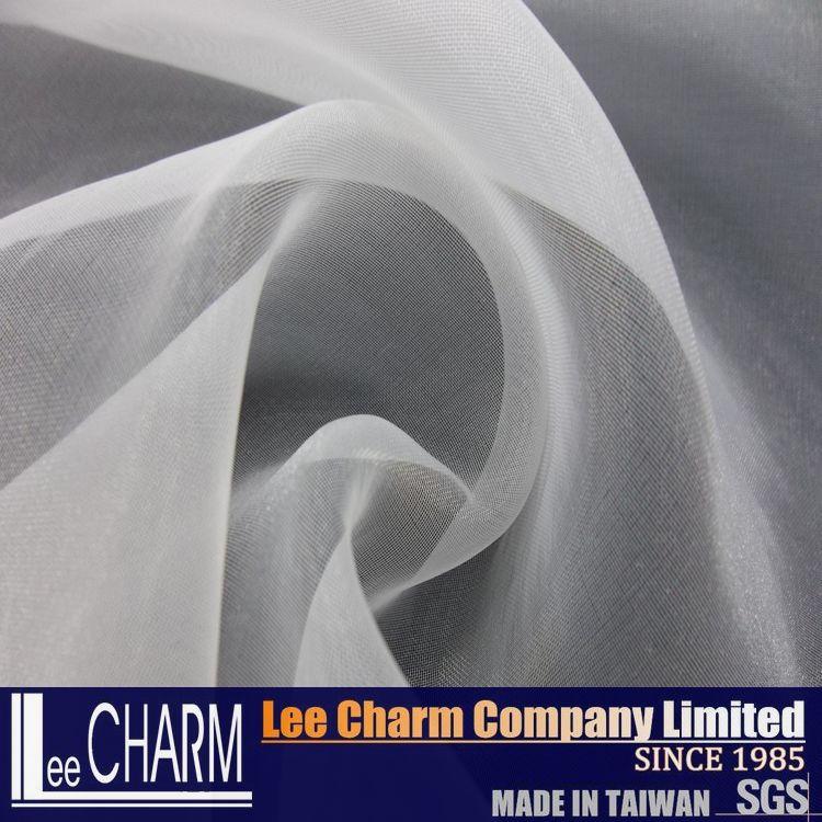 Rollen gro handel polyester farbstoff organza stoff textil produkt id 60058487614 - Organza dekostoff rollen ...