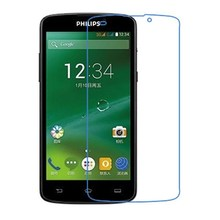 Ultra Clear HD Front LCD glossy Screen Protector Screen protective Film For Philips V387