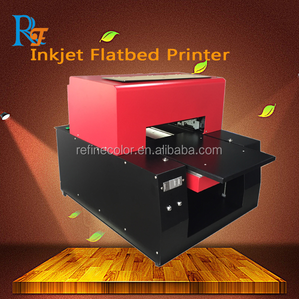 New Prouct Raised Ink Chrome paper printer / Printing machine with white ink