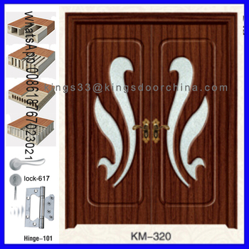 Charming Cheap Made Main Door Double Door Design