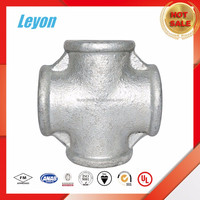Low Price Galvanized Malleable Iron Pipe Fittings Crosses Tee