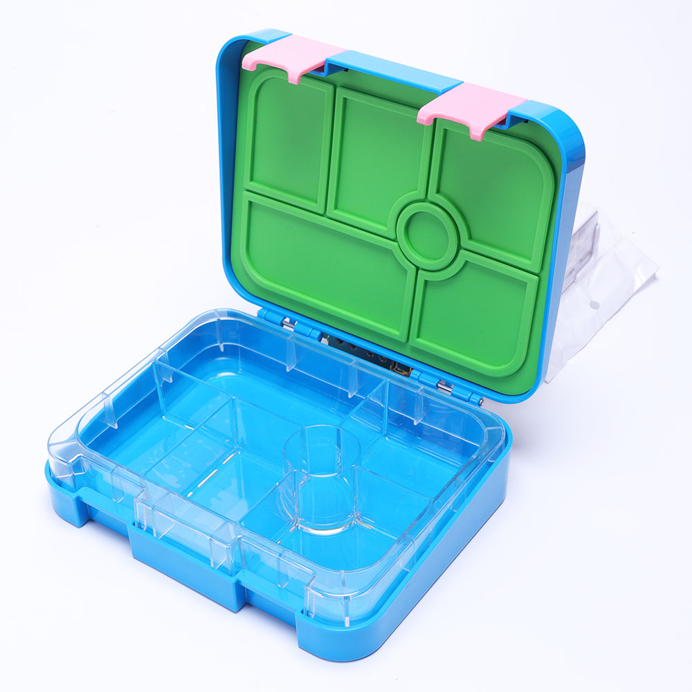 Eco Friendly <strong>PP</strong> Easy Carry Sandwich Kids Free Plastic Bento Tiffin Lunch Box