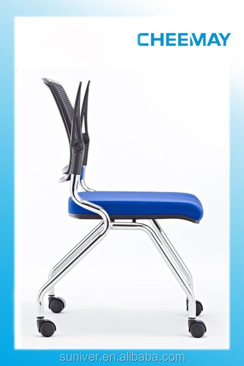 ausbildung vier beinen stuhl auf rollen mesh b rostuhl. Black Bedroom Furniture Sets. Home Design Ideas