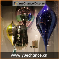Fall Window Display Electroplated Props