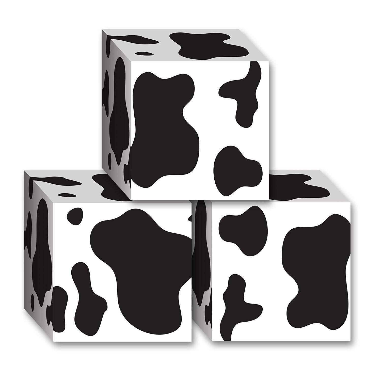 Beistle Cow Print Favor Boxes