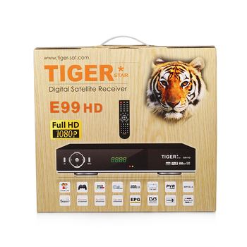 Tiger E99 HD Digital Satellite Receiver Set Top Box free to air dvb s2 set top box