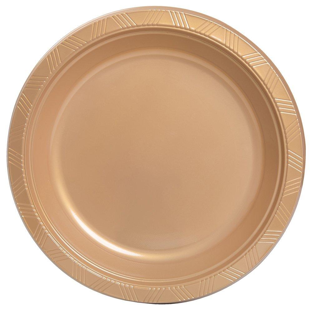 Get Quotations · Unique Industries 20 Count 10  Plastic Dinner Plates ...  sc 1 st  Alibaba & Cheap Gold Plastic Plates find Gold Plastic Plates deals on line at ...