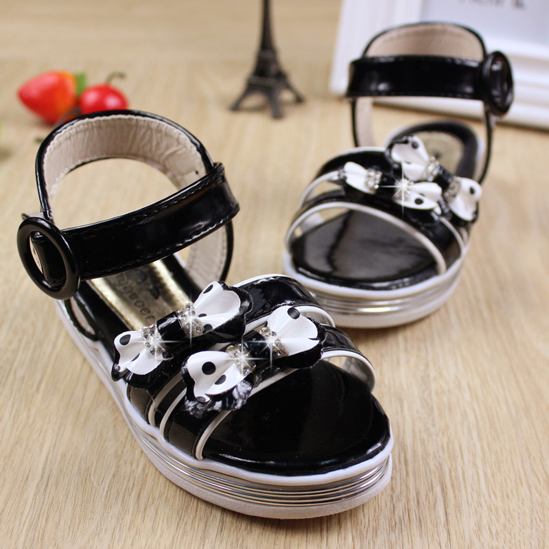 Лето приток дети в обувь девочки красивая обувь корейский версии сладкий цветы удобная обувь