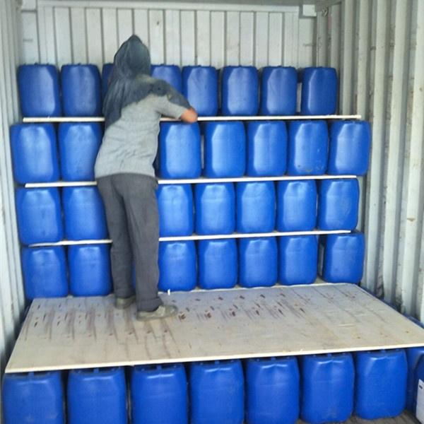 Ácido sulfúrico H2SO4 98% solución de grado Industrial comercial IBC Tank