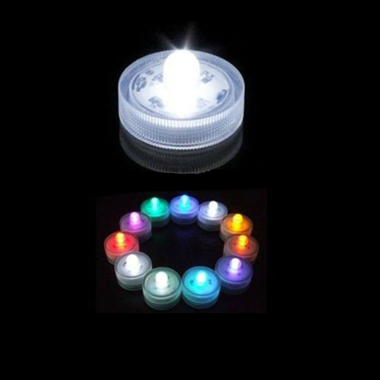 waterproof LED shower candle lights