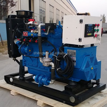 Automatic Control 15kw natural gas generator with CE ISO for China