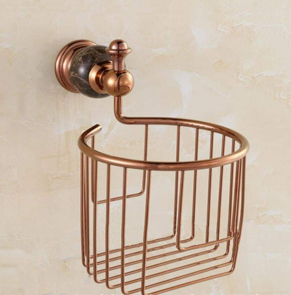 L.I. The Pink Gold European Retro Holders of Toilet Paper Accessories Door of Room of Wall-Fabric Door Roll-Roll Fabric Fabric of Storage and The Organization of Distributor for Kitchen