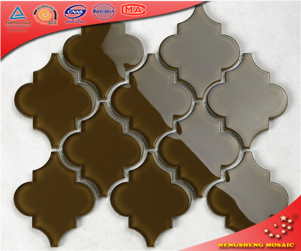 HSD201 Brown wall decoration water jet lamp subway art tiles