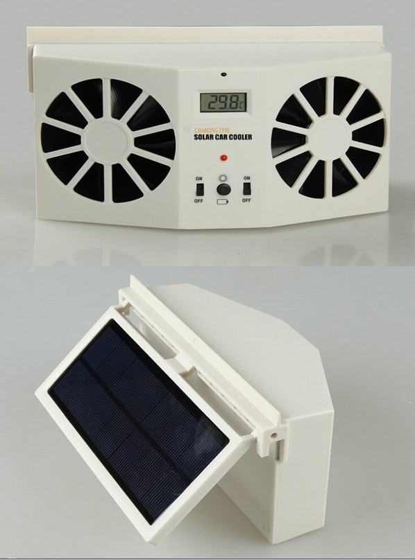 Wholesale Solar Powered Fan for Car