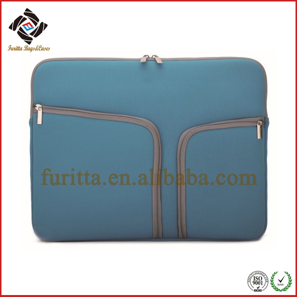 New Fashional 15 inch Waterproof Shockproof Zipper Pocket Neoprene Laptop Sleeve Case