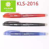 Eco friendly ball pen ink rubber erasable gel ink pen for office and school